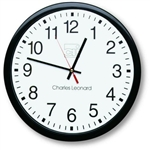 14-Inch Quartz Black and White Wall Clock