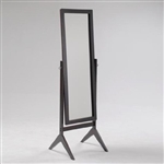 Full Length Cheval Mirror in Espresso Finish