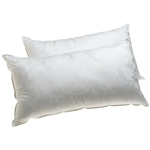 Set of 2 - King size Hypoallergenic Pillows with Gel Fiber Fill