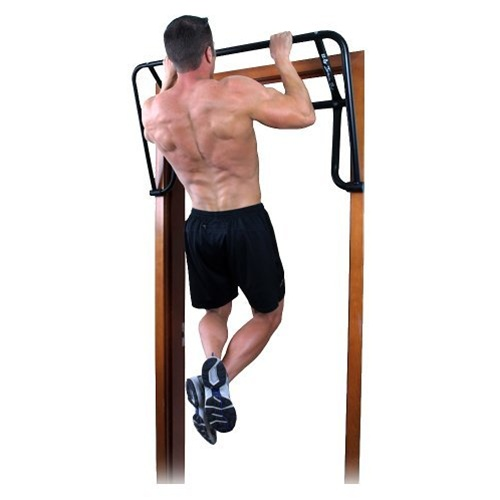 Ez up inversion rack pull up bar for door frame for Door frame pull up bar