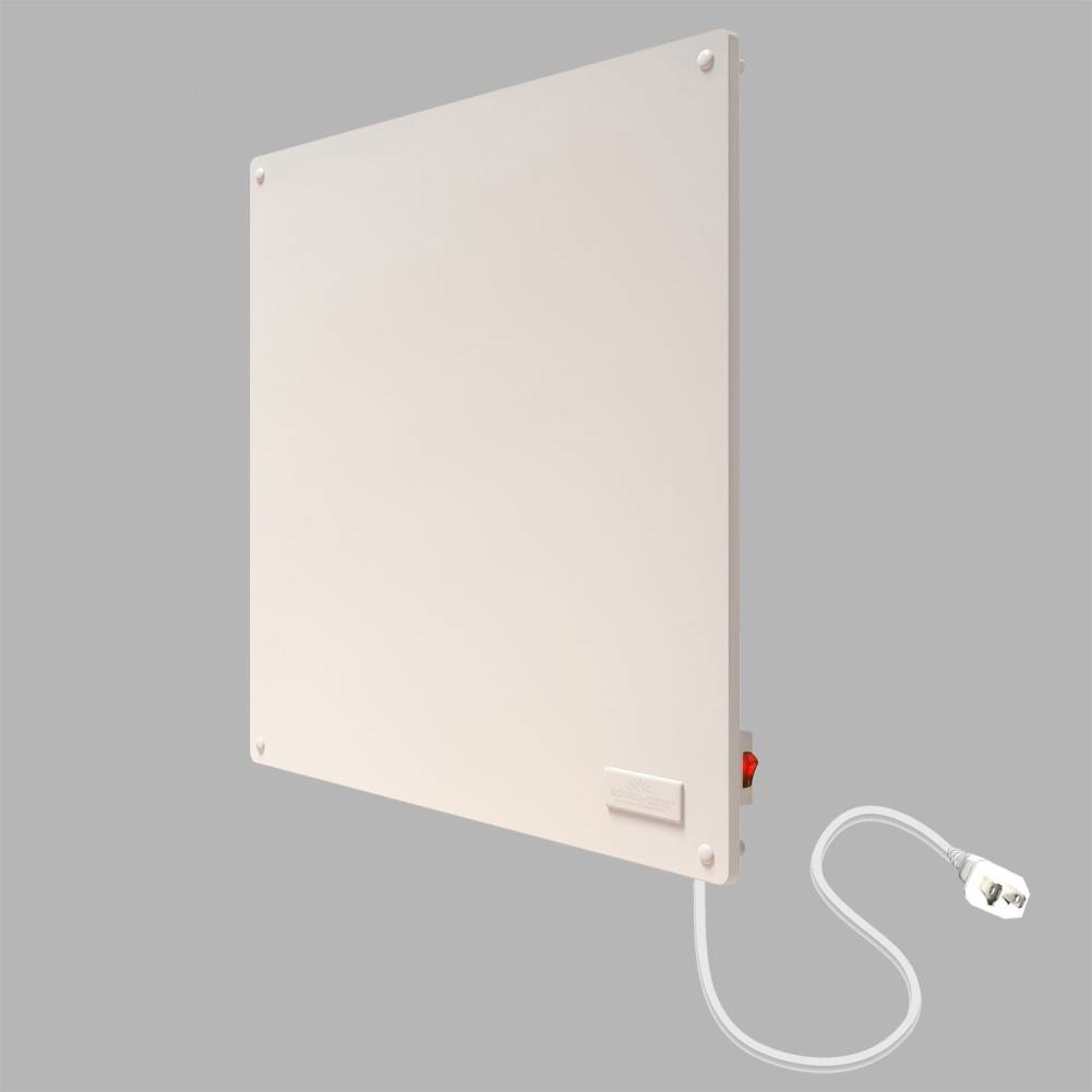 Wall Panel Convection Space Heater in White | FastFurnishings.com