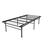 Twin XL Heavy Duty 18-inch High Rise Metal Platform Bed Frame