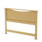 Full size European style Headboard in Natural Maple Finish
