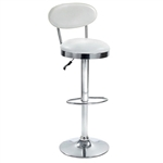 Beer Bar Stool Chair w/ Modern Adjustable Height & Swivel