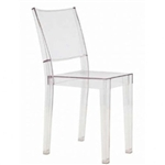 Transparent Stacking Dining Chair for Indoors or Outdoors