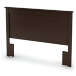 Full / Queen size Headboard in Chocolate Finish - Eco-Friendly