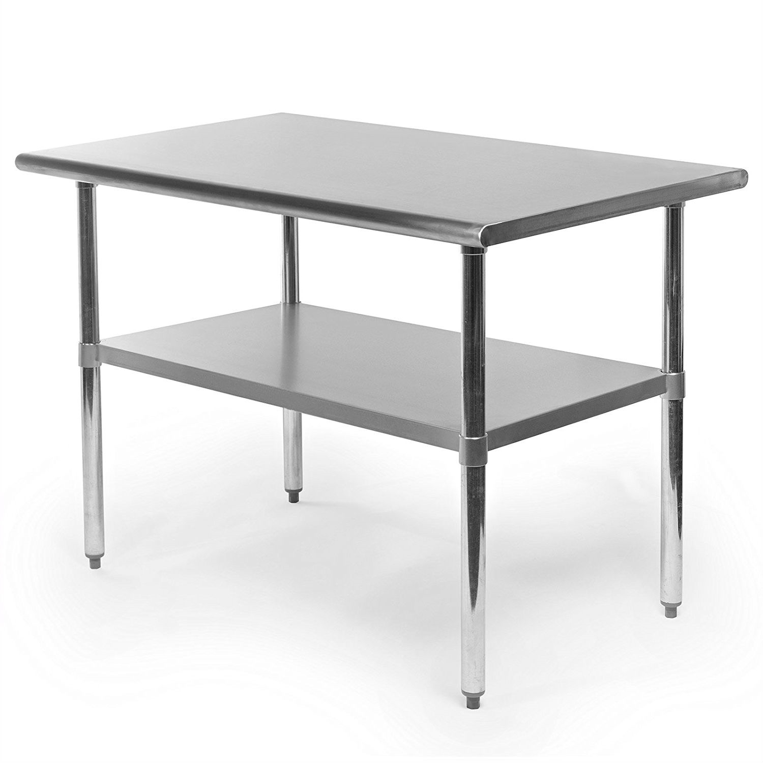 Restaurant Kitchen Work Tables heavy duty stainless steel 48 x 30 inch kitchen restaurant prep