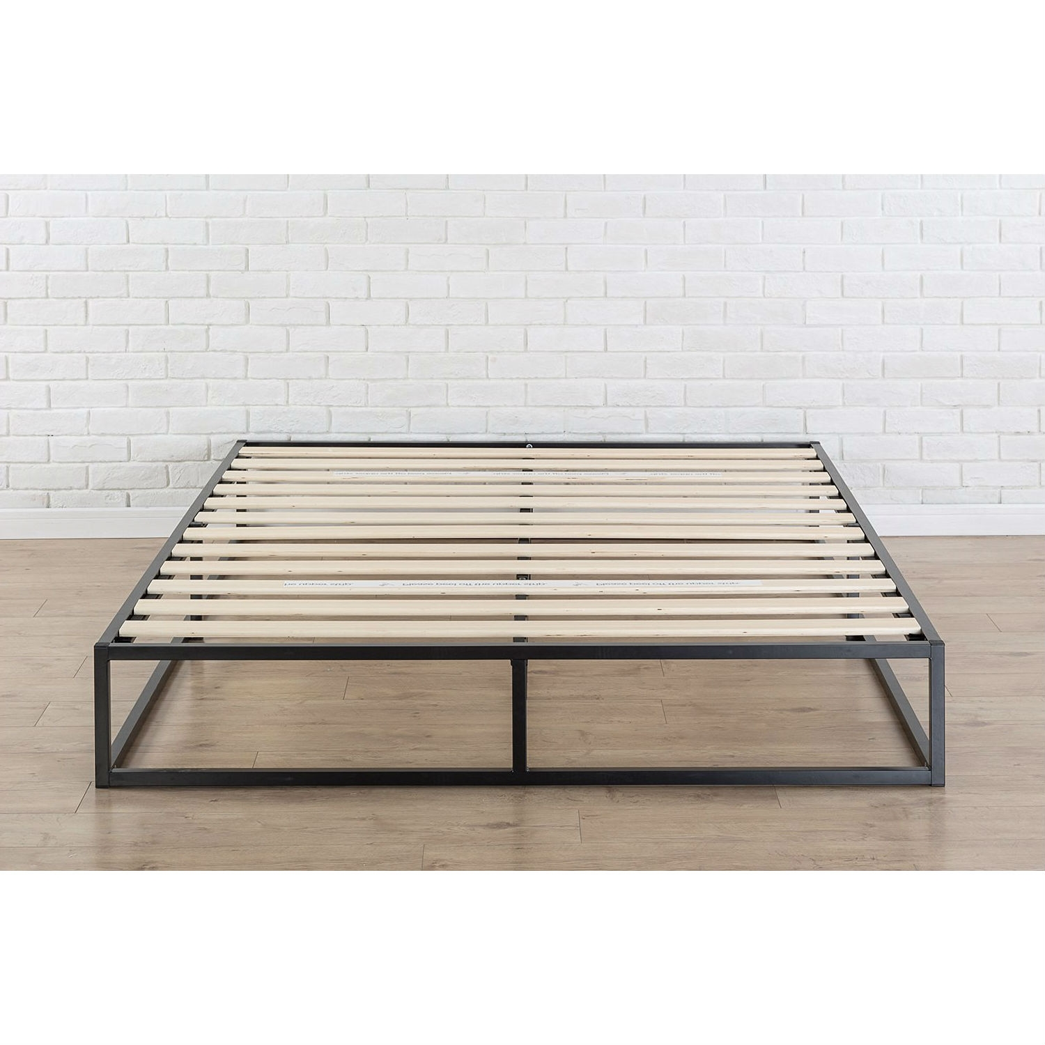 King size Modern 10-inch Low Profile Metal Platform Bed Frame with ...
