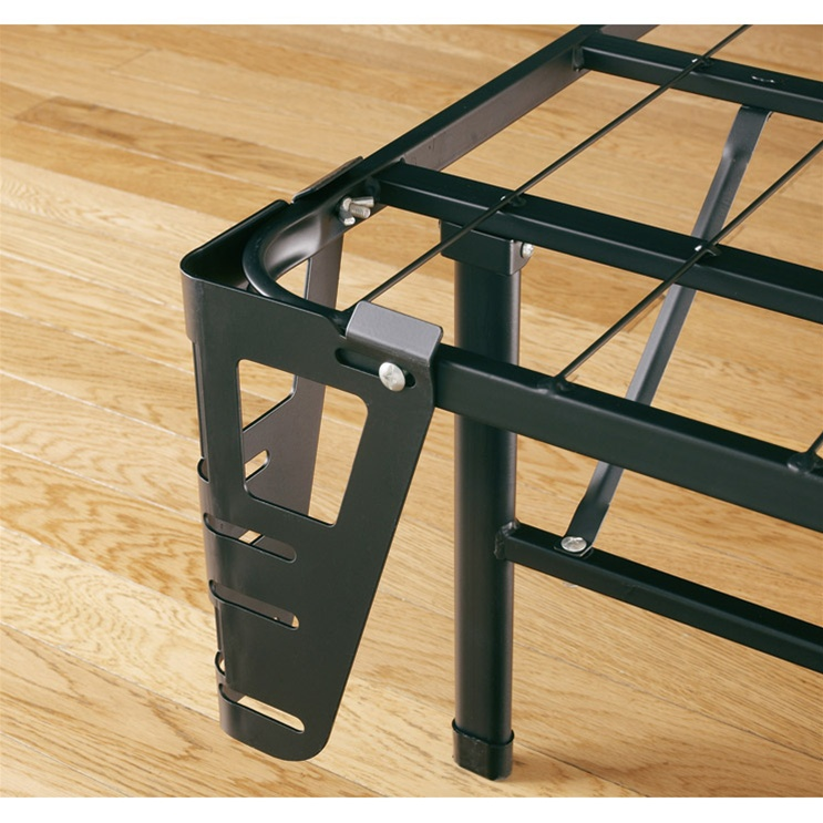 metal bed frame with headboard and footboard brackets 3