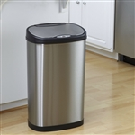 Stainless Steel 13 Gallon Touchless Kitchen Trash Can