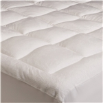 King size Overfilled Super Soft Microplush Mattress Pad