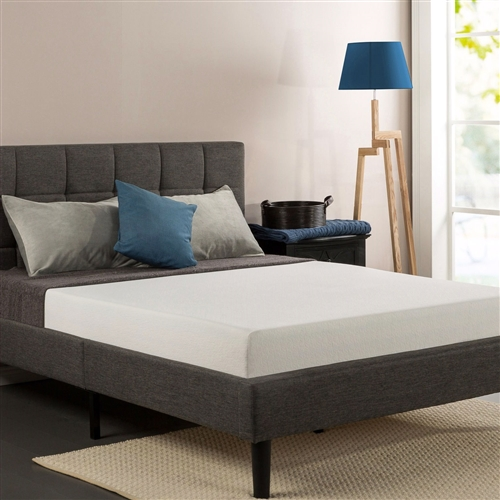 Queen size 8-inch Thick Memory Foam Mattress with Knitted Fabric Cover