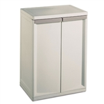 Durable 2-Shelf Storage Unit Home Garden Organizer Utility Cabinet