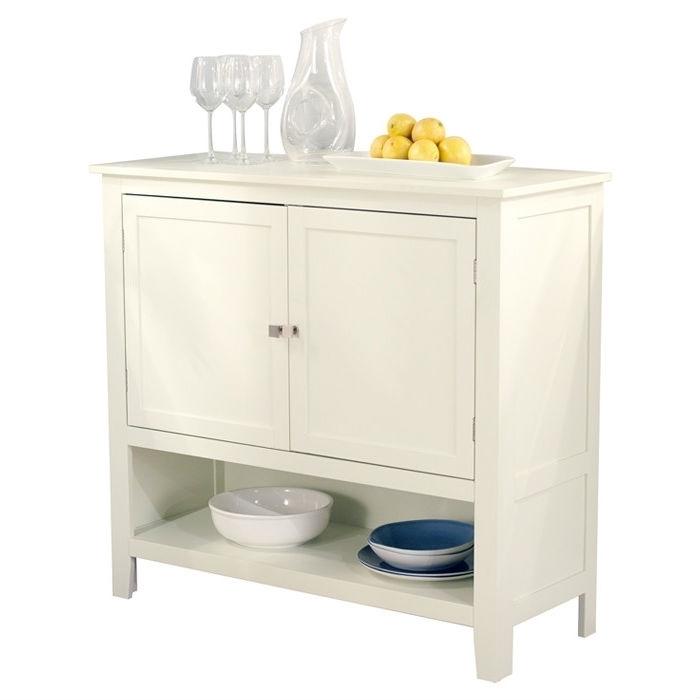 Kitchen Dining Storage Cabinet Sideboard Buffet Server In Antique White