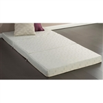 Twin size 4-inch Thick Memory Foam Guest Bed Mat Folding Mattress