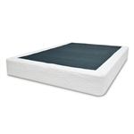 Twin size Steel Metal Box-Spring Mattress Foundation with Cover