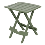 Sage Green Patio Side Table - Holds up to 25-Pounds