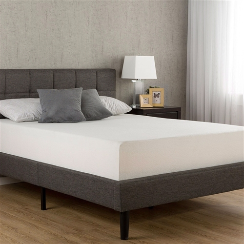 Queen size 10-inch Thick Pillow Top Mattress with Pocketed Springs
