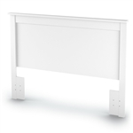 Full / Queen size Headboard in White Finish