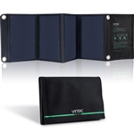 22-Watt Folding Solar Panel Battery Charger USB iPhones Tablets GPS Camera