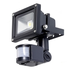 Outdoor LED Floodlight Security Light with Motion Sensor 40-Ft Detection Range