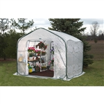 Farm-House Home Garden UV Resistant Greenhouse (9' x 9')