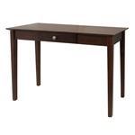 Console Table Laptop Computer Desk Sofa Table in Walnut Finish