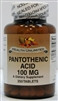 Pantothenic Acid  100mg