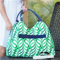 Island Palm Beach Bag: Personalized Beach Bag | lulukate