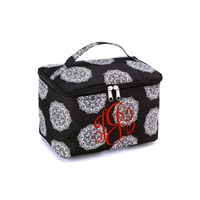 large black cosmetic bag