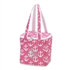 Pink Anchors Cooler Tote
