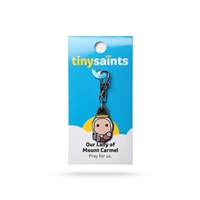 Tiny Saints Charm - Our Lady of Mt. Carmel