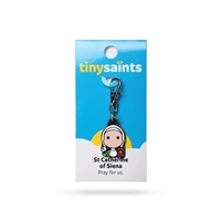 Tiny Saints Charm - St. Catherine of Siena