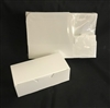 1/2 Pound White Candy Boxes