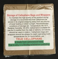 Clear Cellophane Candy Wrappers