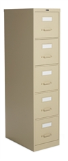 "5-Drawer 64.25""H Vertical Letter File- 25-500"