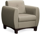 PRAIRIE Leather Lounge Chair from Global