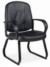 Arno Deluxe Leather Side Chair