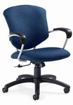 Supra Medium-Back Pneumatic Tilter Chair