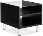 Citi Glass Top End Table