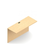 Adaptabilities Instock Component Flush Bridge for U Desk Workstations