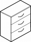 Adaptabilities 3 Drawer Lateral File
