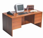 Adaptabilities In-Stock: 36 x 72 Double Pedestal Desk - A3672DP
