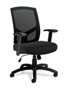 Seating to Go: Mesh Back High Back Managers Chair - OTG11516B