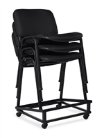 Seating To Go: Armless Stack Chair by Global OTG