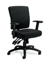 Offices to Go: Multi Function Chair with Arms - OTG11950B