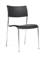 Seating To Go: Stack Chair without Arms - OTG1221B by Global Offices to Go
