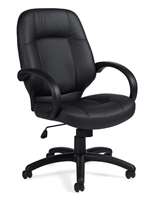 Seating to Go: Luxhide Executive Chair from Global Offices to Go