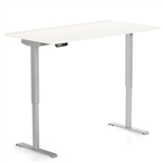 "Foli 58""W Height Adjustable Table - PHAT3060T/PHATB460 from Global"