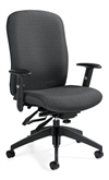 Trueform TS Series High Back Heavy Duty Multi-Tilter Chair- TS5450-3
